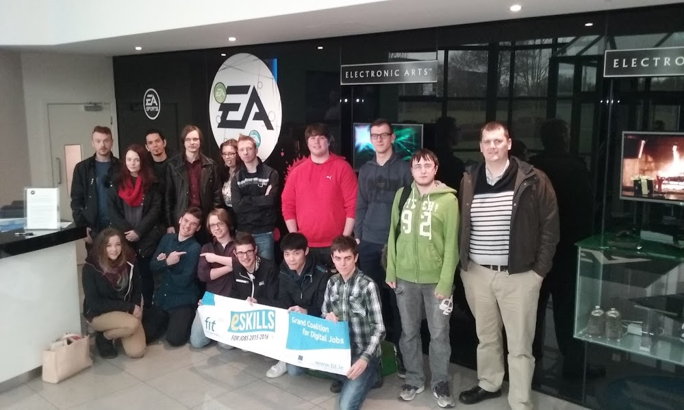 Visit to EA Games, Galway