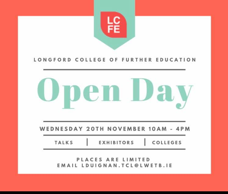College Awareness Week 20th November